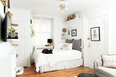 This Tiny 225-Square-Foot Studio Apartment Is Full of the Most Genius Storage Solutions: gallery image 10
