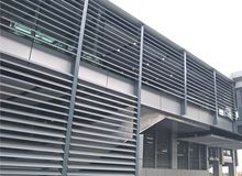 Mortorized louvers, Mortorized louvers direct from Foshan Dexone Building Materials Ltd. in China (Mainland)