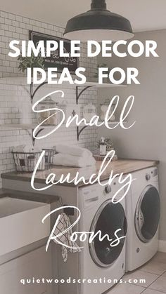 Small Laundry Rooms, Laundry Room Organization, Custom Wooden Signs, Wood Creations, Farmhouse Decor, Woodworking, Design Inspiration, House Design, Simple