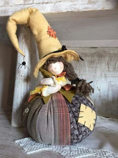 1 million+ Stunning Free Images to Use Anywhere Couture Pour Halloween, Halloween Doll, Holidays Halloween, Halloween Crafts, Nordic Christmas, Christmas Gnome, Christmas Crafts, Christmas Ornaments, Pink Christmas Decorations