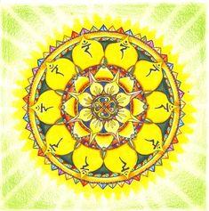 Solar Plexus Chakra Mandala