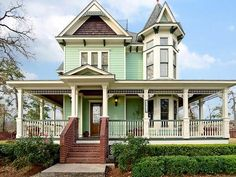 Houston, TX - Beautiful, well maintained Victorian home Business Journal, Woman Painting, Houston Tx, Victorian Homes, White Walls, Old Houses, Curb Appeal, Luxury Homes, Home And Family