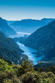 Fjordland National Park, South Island, New Zealand