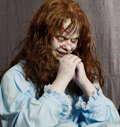 THE EXORCIST Lifesize Possessed Regan Doll.