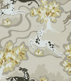 Waverly Print Fabric-Prance/Shimmer