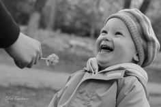 """Dandelion Laughing"" captured by photographer Galina Turchanina"