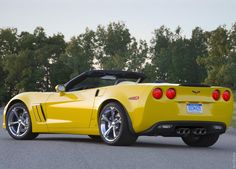 2010 Chevrolet Corvette Grand Sport  The only car HOT enough to pull off yellow!