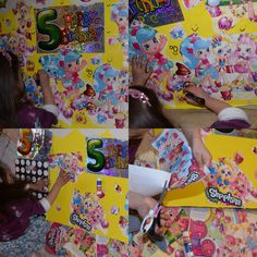 Creative kid @shopkinsworld   @shopkins_world #craft #creative #cutting #poster #kid #design #idea #shoppies #shopkins #activity #birthday #happy #fun #art #creativity #proud #daughter #mummy #love