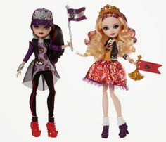 Ever After High School Spirit Raven Queen and Apple White