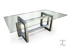 Tabela / Nowoczesne / metal / żelaza jadalny THASOS GONZALO DE SALAS