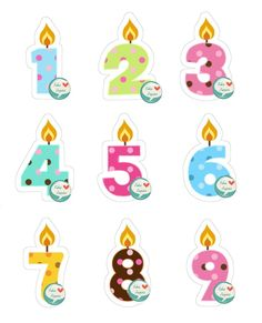 Aplique recortado tema Velas Modelo 1 <br>Ideal para decorações de aniversário e festa <br> <br>Papel fotográfico. <br>Tamanho médio: 3,5 cm. <br> <br>Envio através de Carta Registrada no valor de R$ 7,00. Birthday Background Design, Diy And Crafts, Crafts For Kids, Happy Birthday, Birthday Parties, Printable Stickers, Scrapbook Cards, Projects To Try, Clip Art