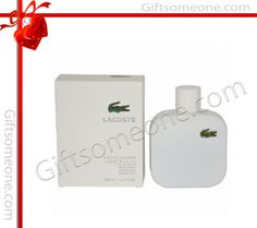 Rs.5,000.00 / $90.00 Shipping Charges Free Shipping To India(IND) Product Details  The pure, clean floral woodiness of Lacoste's White Edition is a clean, crisp, fresh scent that makes you feel elegantly audacious, light, and cool. the notes consist of Grapefruit, Cardamom, Rosemary, Cedar Leaf, Tuberose, Olibanum, Ylang Ylang, Vetyver, Suede, Cedarwood, Georgywood.  http://www.giftsomeone.com/white/product_info.php/products_id/3630
