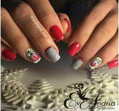 #ногтинановыйгод #новогоднийдизайн #новогодниеногти #ногти #nails #nail #shellacnails #shellak