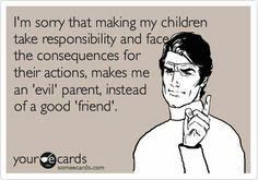 Good parent!