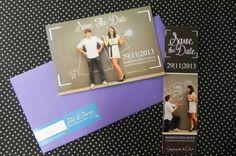 Save the Date: pré-convite impresso em forma de cartão postal - Foto Elias Vestergaard