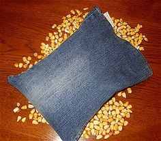 HOW TO MAKE A RECYCLED MICROWAVABLE CORN/RICE HEATING PAD   Corn Warmerz All Natural, Eco-friendly, Microwaveable Heating Pads