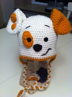 Bubble Puppy Hat by JuniperBabyDesigns on Etsy