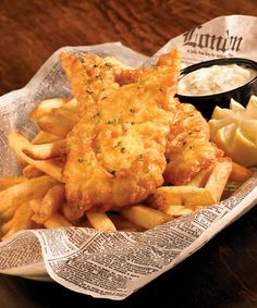 Our award winning Fish  Chips is classic here at Baker St. Pub  Grill. You can't go wrong when ordering it at a British Pub.