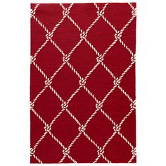 Found it at Wayfair - Coastal Lagoon Rio Red Indoor/Outdoor Area Rug