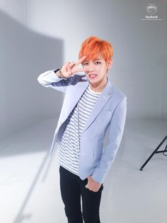 V, BTS' official facebook update