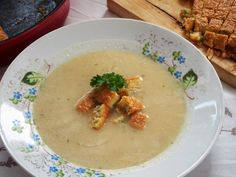 Polévky :: RECEPTY ZE ŠUMAVSKÉ VESNICE Thai Red Curry, Ethnic Recipes, Food, Meals, Yemek, Eten