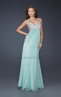 Light Blue Beaded Two Straps Long Prom Dresses with Sequin [Two Straps Long Prom Dresses] - $167.00 : Discount Dresses for Prom 2013,Up 50% Off http://www.hotpromdresses2013.com