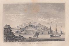 Ships, Painting, Art, Volcanoes, Art Background, Boats, Painting Art, Kunst, Paintings