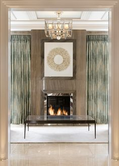Totteridge Common, Private Residence, Drawing Room Entrance Vignette Architectural Detail Contemporary Modern by Interiors by Sarah Ward