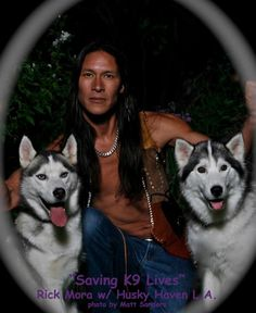 Apaches, Rick Mora native american