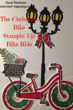 Christmas Bike with Bike Ride, Stampin' Up!