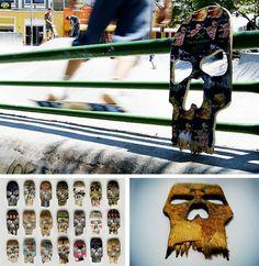 sk8skulls by Beto Janz for Ultra Skate