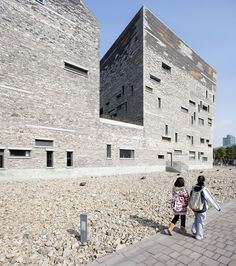 Photography: Wang Shu Projects, by Clement Guillaume Photography: Wang Shu Projects (24) – ArchDaily