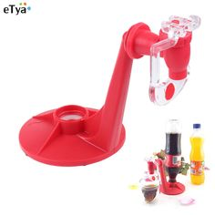 Ideal ETYA Mini Cola Beverage Switch Water Drinkers Automatic Dispenser Hand Pressure Upside Down Drinking Fountains Free