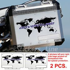World adventure map decals for touratech panniers bmw motorcycle adesivi bmw world stampe borse alluminio valigie r1200gs adventure bags stickers gumiabroncs Image collections