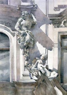 Grzegorz Wróbel - Watercolors