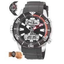 bb1e26aacfe Citizen Aqualand Promaster Diver s 200M Analog Digital JP1098-17E Men s  Watch
