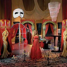 Our exclusive Phantom's Masquerade Kit contains everything you'll need to host a spectacular masquerade party or event.