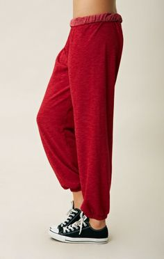 FOLD OVER SWEAT PANT