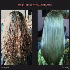 Retoque mechas, raíces y color, más Alisado Keratina y despunte javianabeauty hair