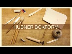 Hübner Bokform (A Mini Documentary by Gustav Bondeson) - i BookBinding