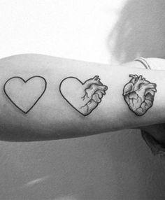 Tatuagem de coração: 25 ideias para quem quer mais amor em 2017