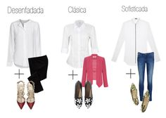 La camisa blanca no tiene porque ser clásica y aburrida. Según el modelo que elijas combínala con las prendas más adecuadas para lograr un look de oficina actualizado.