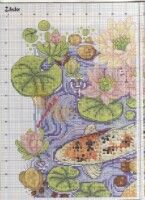"""ru / frango - Альбом """"Flashes of gold"""" Cross Stitch Books, Cross Stitch Animals, Cross Stitch Charts, Cross Stitches, Crochet Baby, Fairy Tales, Vintage World Maps, Oriental, Projects To Try"""