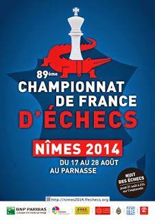 Échecs à Nîmes : début ce dimanche à 15h30 du 89e Championnats de France http://viadeo.com/s/R0FSZ