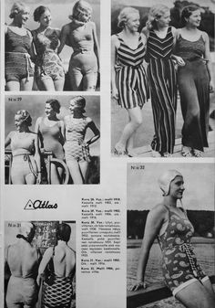 Vintage Finnish Beachwear