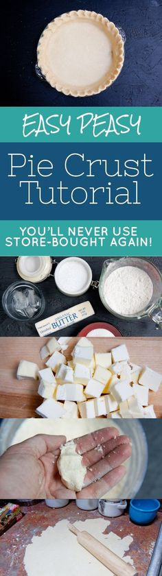 I seem to start these kitchen 101 posts with confessions a lot of the time.Well, here we go again, confession time, friends. Up until about a year ago, I was terrified to make my own pie crust. I�m not sure where the fear came from. Maybe I watched one t