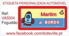 Etiquetas Automóvel Ref: VA5004 foguetão Preço: 8,00€
