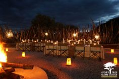 Boma dinners at Ivory Tree Game Lodge in the Pilanesberg! African Bedroom, Game Lodge, Go Game, Cultural Experience, Outdoor Furniture Sets, Outdoor Decor, South Africa, Safari, National Parks