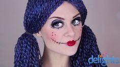 Rag doll makeup