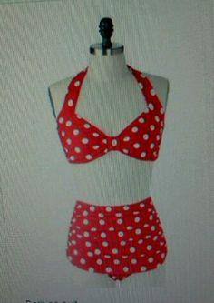 Vintage, 1960s bathing suit! Adorable....